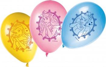 Princess Printed Balloons - 8CT-0