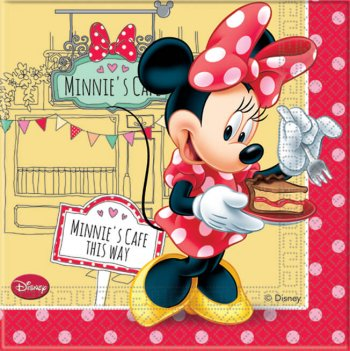 Minnie Mouse Napkins - 20CT-0