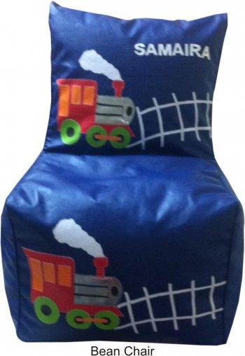 Personalized Bean Chair-Train (9-11 Years)-0