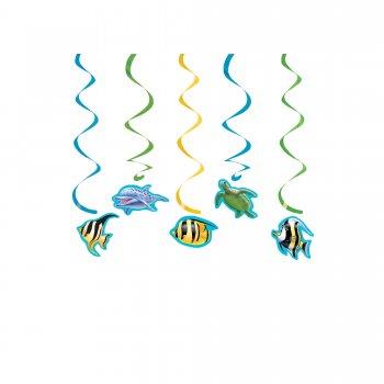 Underwater Theme Party Dizzy Danglers - 5CT-0