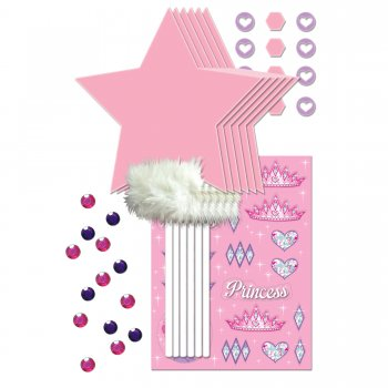 Princess Wand Décor Kit Set - 4CT-0
