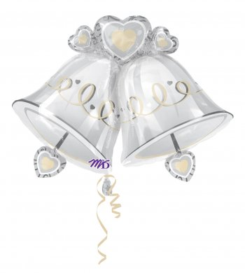 Wedding Bells SuperShape Balloons P35-0