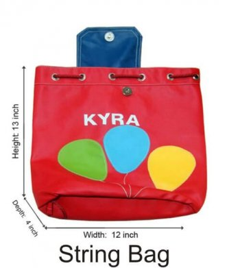 Personalized String Bag-Balloons-0