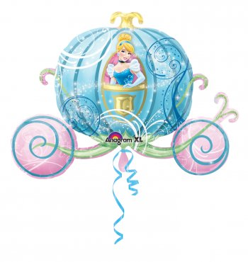 Cindrella Carriage Supershape Balloons P35-0