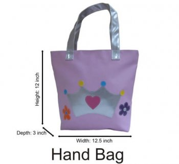 Personalized Handbag Cute Princess-0