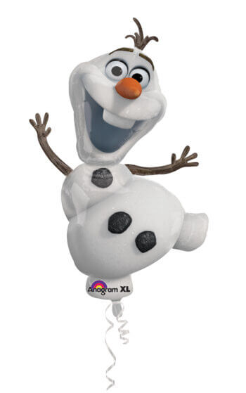 Frozen Olaf SuperShape Balloons P35-0