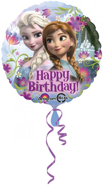 "Frozen Happy Birthday Balloons 18"" S50-0"