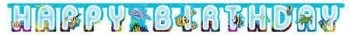 Underwater Theme Party Letter Banner-0