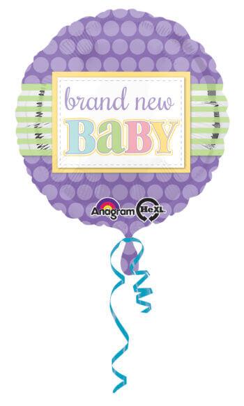 "Brand New Baby Balloons 18"" S40-0"