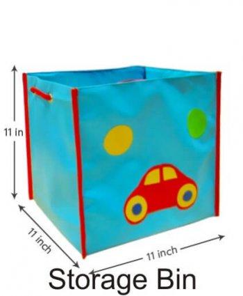 Personalized Storage Bin With Lid-Car-0