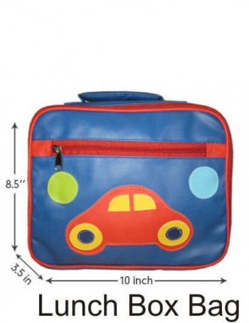 Personalized Lunch Box Cover-Car-0