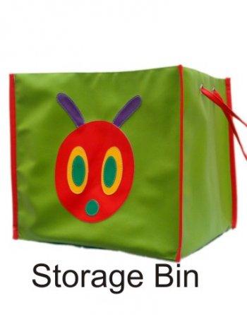 Personalized Storage Bin Without Lid -Caterpillar-0