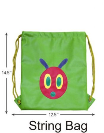 Personalized String Bag-Caterpillar-0