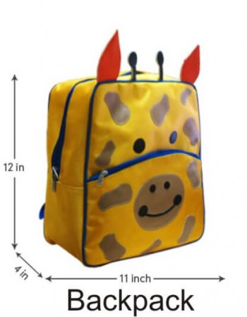 Personalized-Backpack Giraffe-0