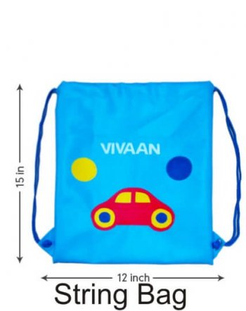 Personalized String Bag-Car-0