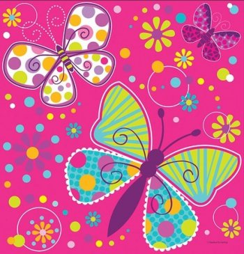 """Butterfly Sparkle Table cover 54x108""""-0"""