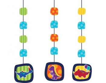 Dinosaurs Theme Party Hanging Cutouts - 3CT-0