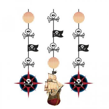 Pirate Party Hanging Cutout - 3CT-0