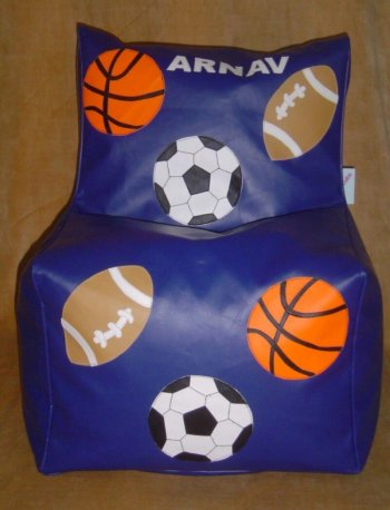 Personalized Bean Chair-Sports (4-8 Years)-0