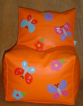 Personalized Bean Chair-Butterfly(4-8 Year)-0