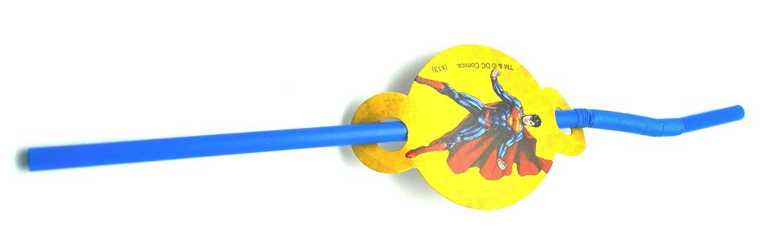 Superman Straws - 10PC-0