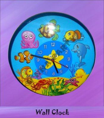 Wall Clock-Underwater -0