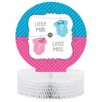 Little Man Little Honeycomb Centerpiece - 1PC-0