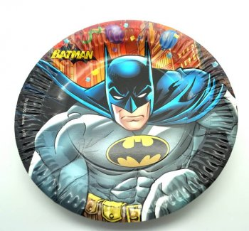 Batman Paper Plates -1 0CT-0