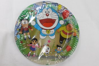 Doraemon Paper Plates 9 inches - 10PC-0