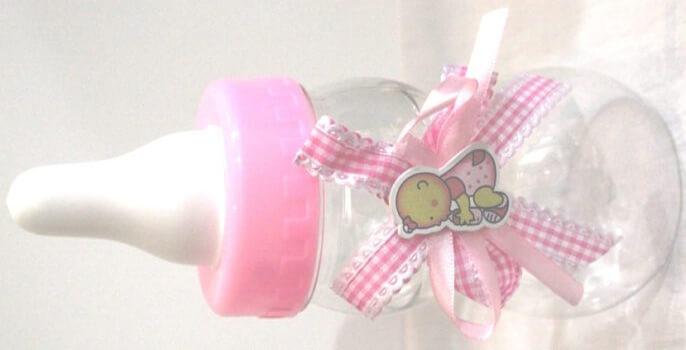 Baby Shower Bottle Favor Pink-0
