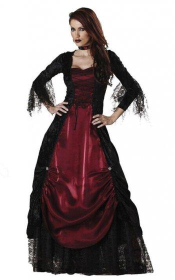 Vampiress Costume Small-0