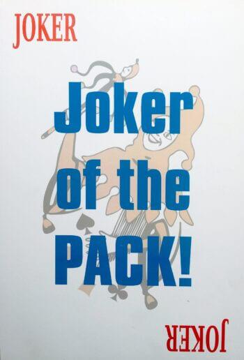 Joker of the Pack Photo Prop-0