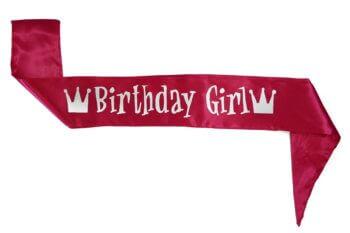 Birthday Girl Sash-0