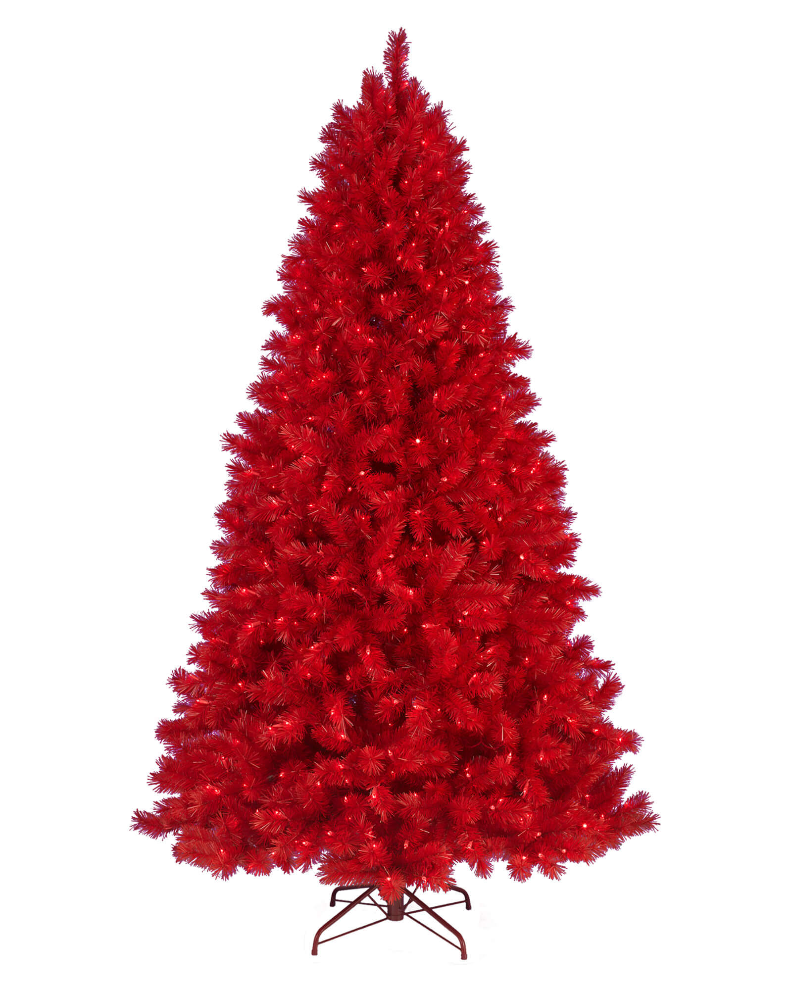 Pine Christmas Tree Red 6ft Online Only India S Premium Party Store Wanna Party
