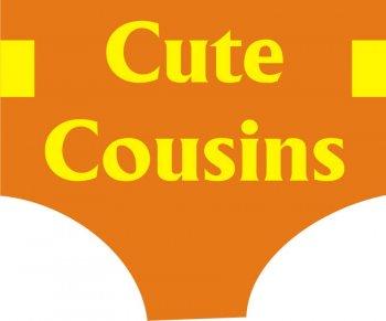Cute Cousins Photo Prop-0