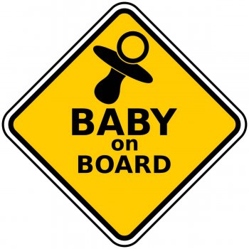 Baby on Board Photo Prop-0