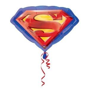 "Superman Logo Balloons 26""-0"