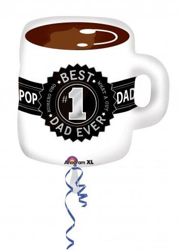 """Best Dad Ever Mug 23"""" P35-0"""