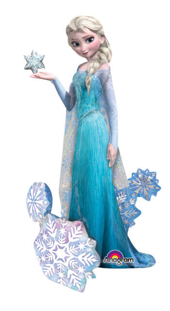 "Frozen ""Elsa"" The Snow Queen Airwalker 57"" P93-0"