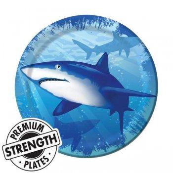 Shark Splash Dinner Plate-0