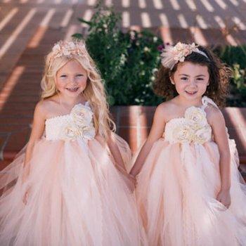 Flower Girl Wedding Tutu Dress-0