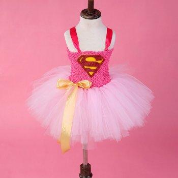 Super Woman Tutu Dress-0