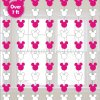 Minnie Mouse String Decoration 7FT - 6PC-0
