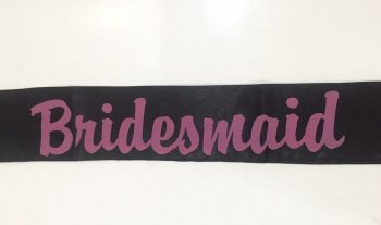 Bridesmaid Sash-0