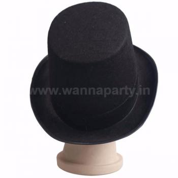 Magician Tall Hat Black-0