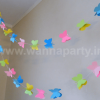 Multi Color 3D Butterfly String Hanging Decoration-0