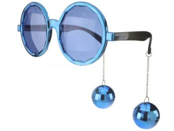 Disco Ball Hanging Shades - Blue-0