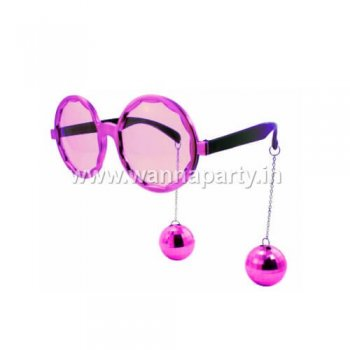 Disco Ball Hanging Shades - Pink-0