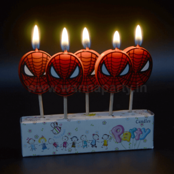 Spiderman Candle - 5PC-0