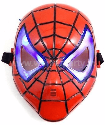The New Age Light Up Spiderman Mask-0